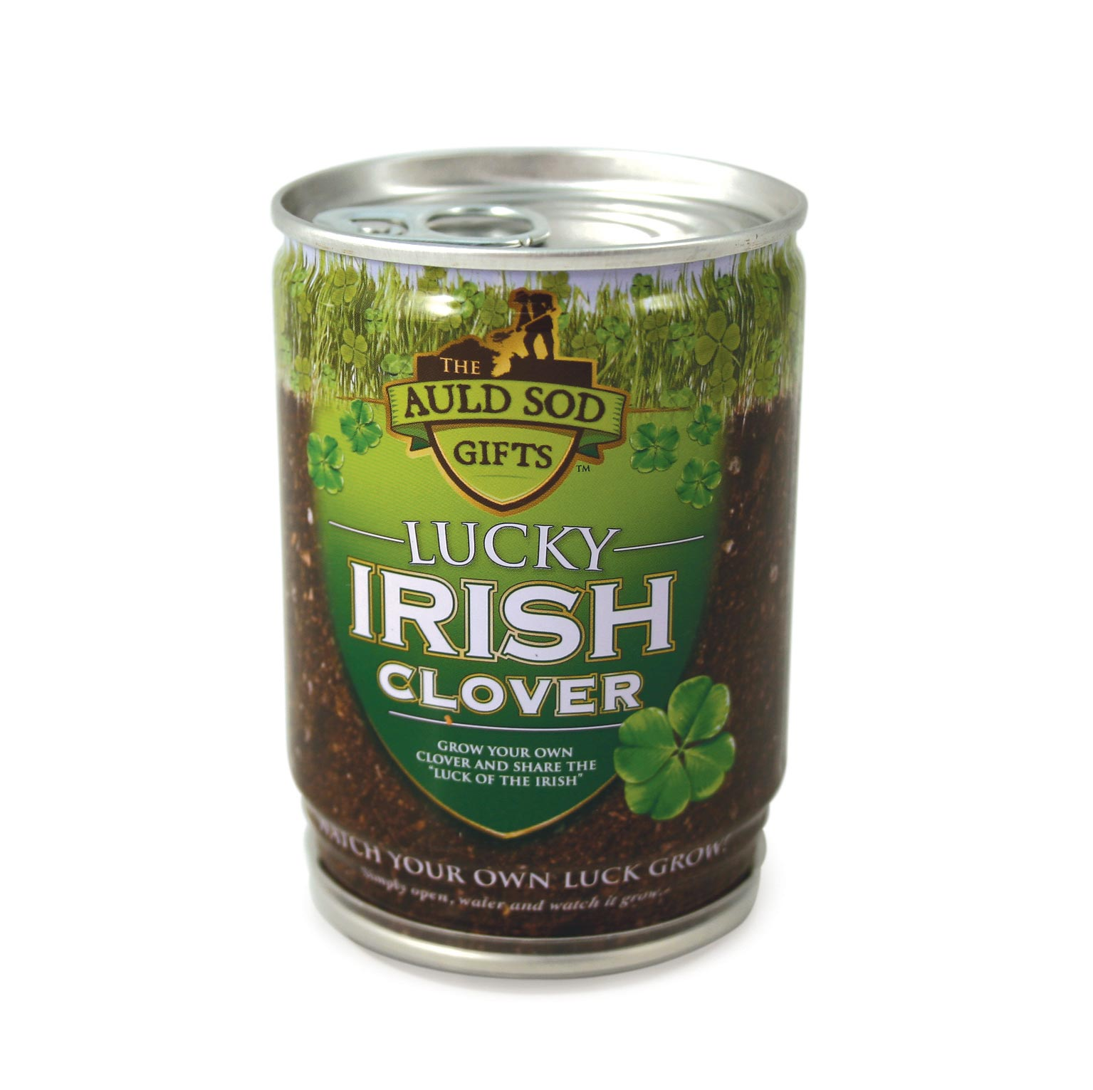 Lucky Irish Clover In A Can