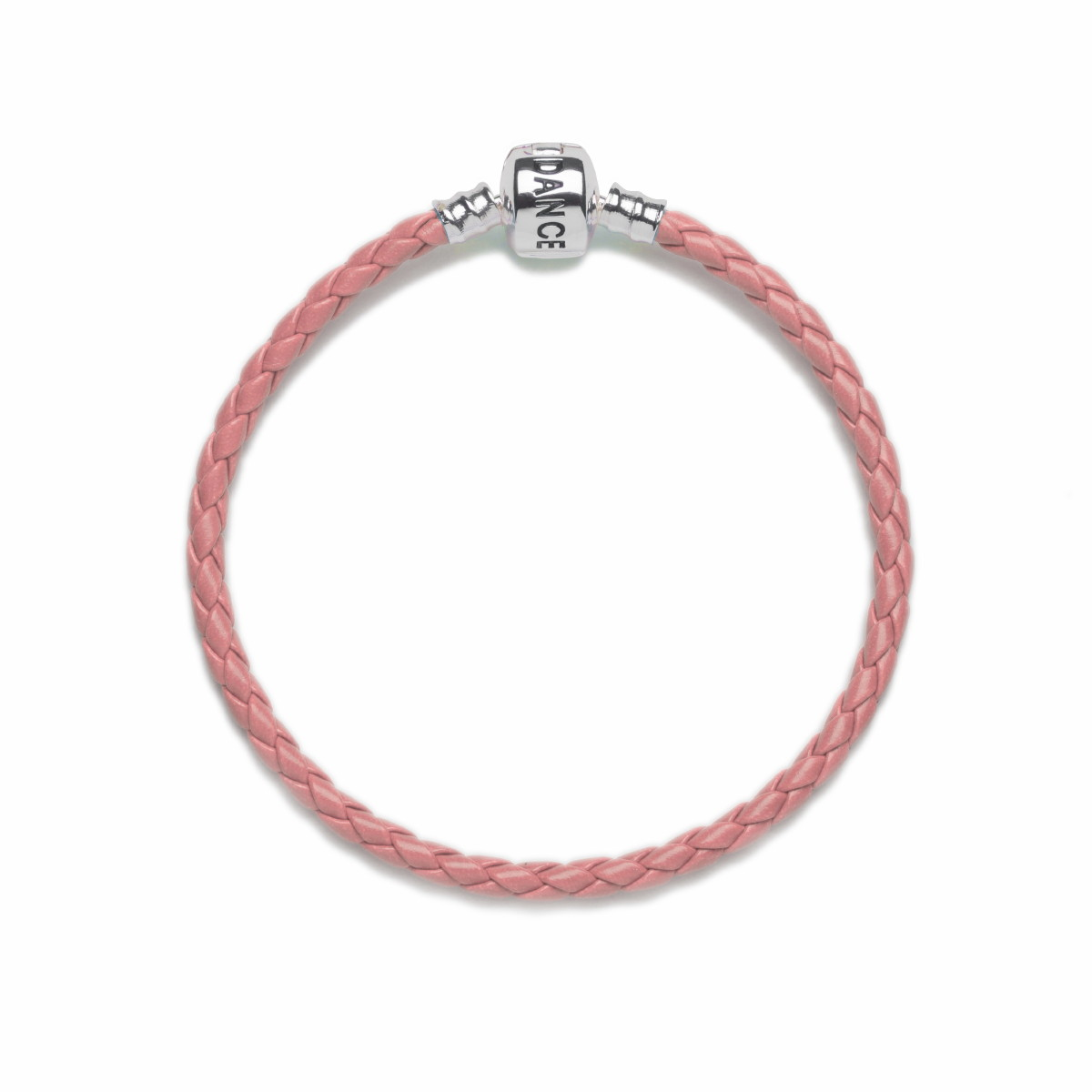 Official Riverdance20 Coral Leather Style Charm Bracelet