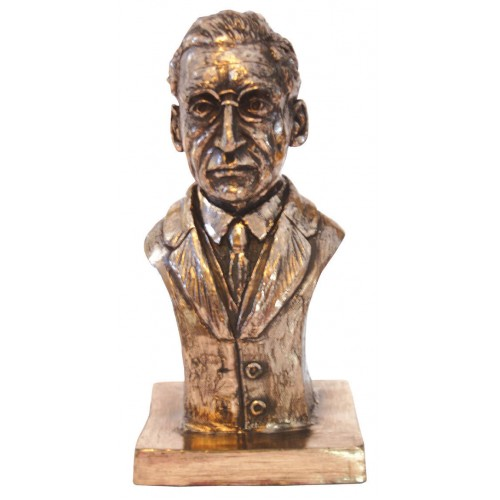 Bronze Sculpture of Eamon DeValera 8.8""