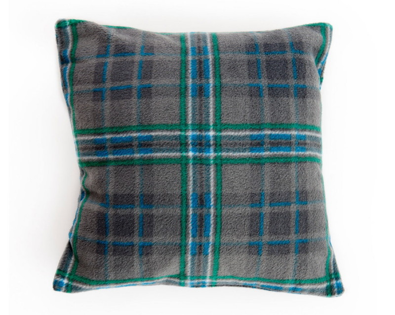 Giants Causeway Tartan Fleece Cushion