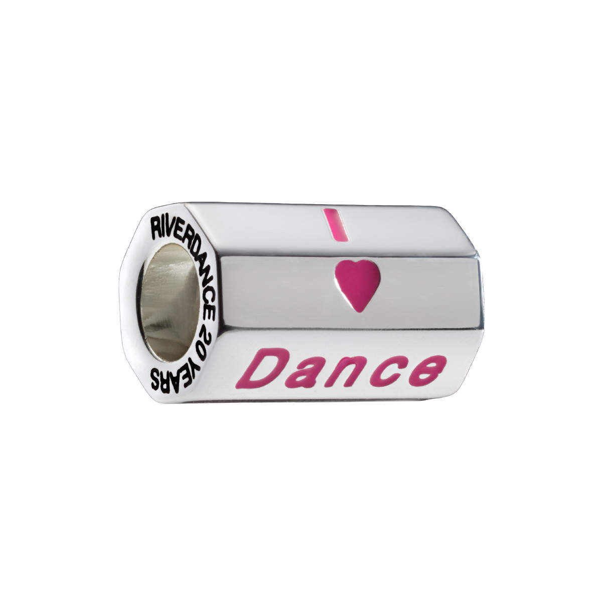 Official Riverdance I Love Dance Octagonal Bead
