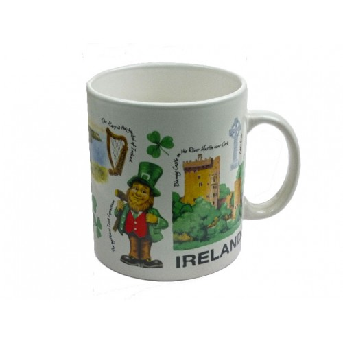Iconic Ireland Jumbo Ceramic Mug
