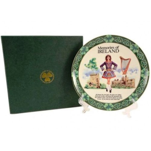 Ireland Ceramic Plate 20cm Gift Boxed