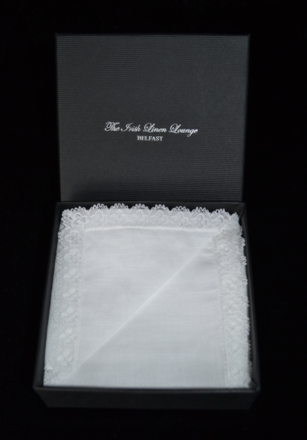 Irish Linen Ladies Handkerchief