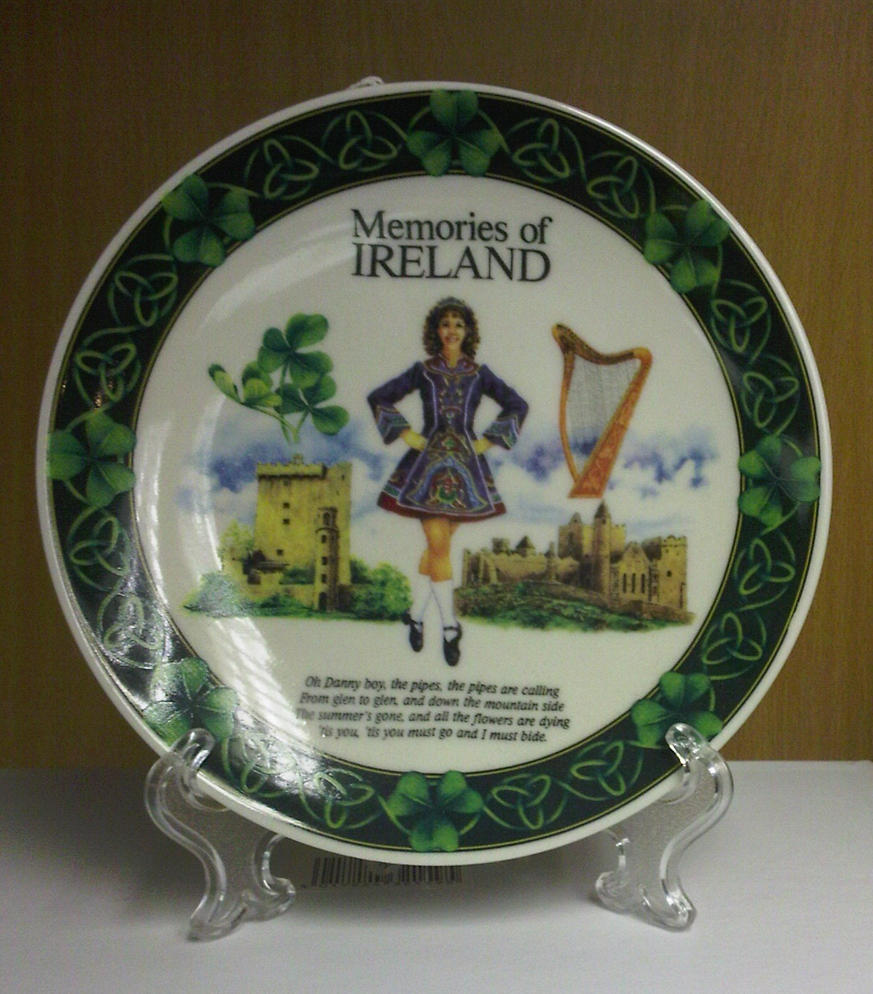 Memories of Ireland 15cm Fine Bone China Plate