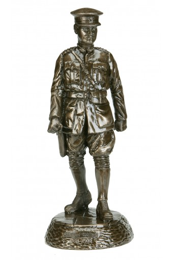 Michael Collins Large Bronze Statue 14""