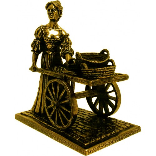 Molly Malone - Bronze Character