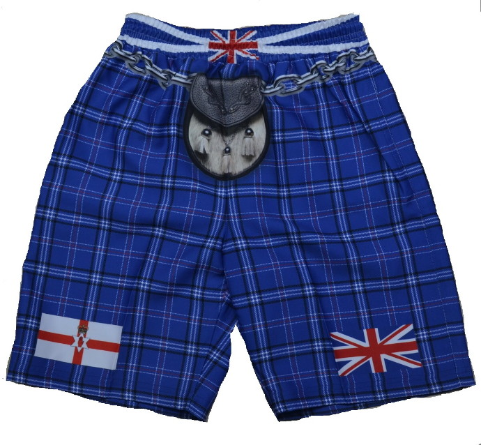 Northern Ireland Tartan Kilt Shorts