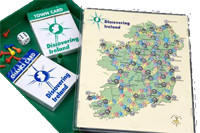 Travel Discovering Ireland Board Game