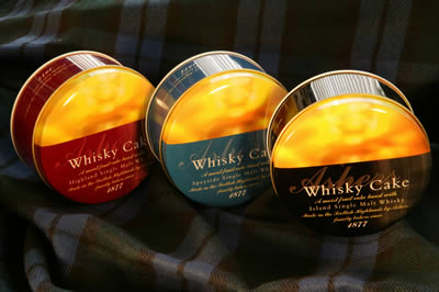 Ashers Pack of 3 Whisky Cakes