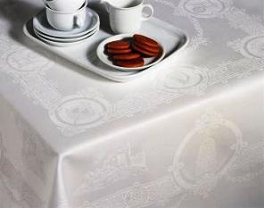 "Celtic Design Tablecloth (72"" x 108"")in a Luxury Gift Box"