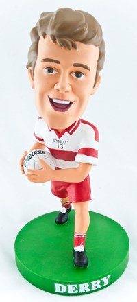 Derry Gaelic Football Bobblehead Figurine | Irish Sport