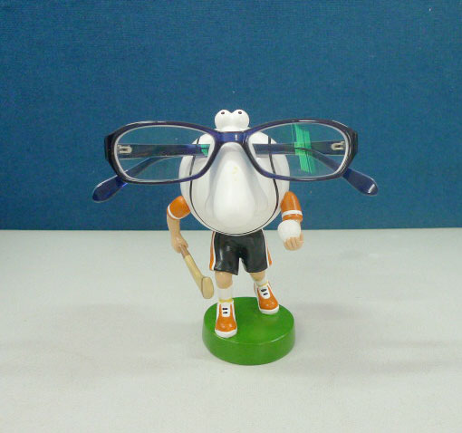 Hurling Spectacles Holder in Irish Colors